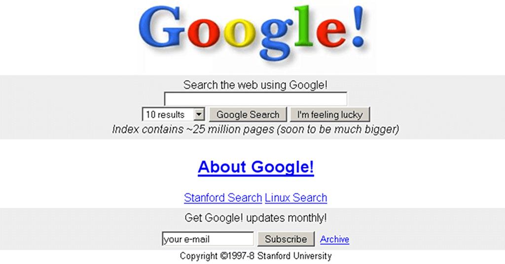 Google in 1997